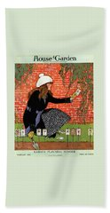 House And Garden Garden Planting Number Cover Hand Towel