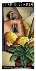 House And Garden Household Equipment Number Cover Hand Towel