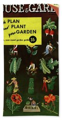 House And Garden How To Plan And Plant Hand Towel