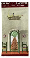 House And Garden Interior Decoration Number Cover Hand Towel