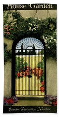 House And Garden Interior Decoration Number Hand Towel