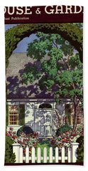 House And Garden Small House Number Hand Towel