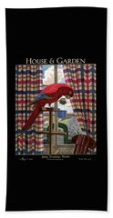 House And Garden Spring Furnishing Number Cover Bath Towel