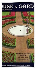 House And Garden Spring Gardening Guide Cover Hand Towel