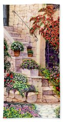 House In Oyster Bay Hand Towel