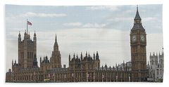 Houses Of Parliament Bath Towel