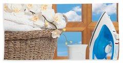 Housework Concept Bath Towel