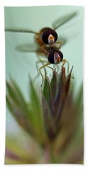 Hover Bugs Hand Towel