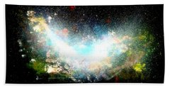 Hubble Birth Of A Galaxy Bath Towel