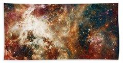 Hubble - Turbulent Star-making Region Bath Towel