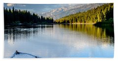 Hume Lake Evening Bath Towel
