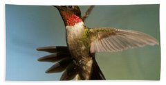 Hummingbird Beauty Hand Towel