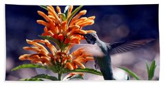Hummingbird Delight Bath Towel
