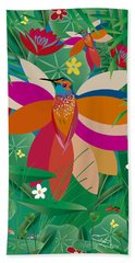 Hummingbird - Limited Edition  Of 10 Bath Towel