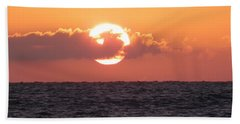 Hunting Island Sunrise Bath Towel