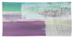 Hydrangea- Abstract Painting Bath Towel