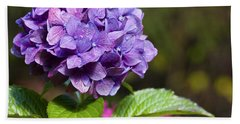Hand Towel featuring the photograph Hydrangea by Belinda Greb
