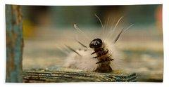 I Am A Caterpillar Bath Towel