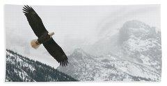 I Am The Eagle Bath Towel