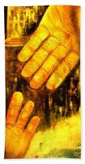 I Chose You Hand Towel by Hazel Holland