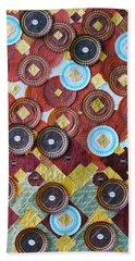 I Love Chocolates Hand Towel by Lorna Maza