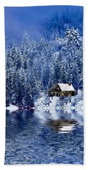 I Loved You In Winter Hand Towel