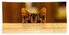 I See You Hand Towel by Mike Ste Marie