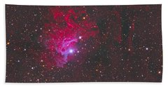 Ic 405, The Flaming Star Nebula Hand Towel