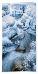 Ice Cathedral Bath Towel