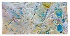Iced Texture I Bath Towel