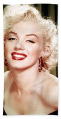 Iconic Marilyn Monroe Hand Towel