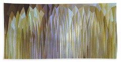 Bath Towel featuring the digital art Icy Blast by Mihaela Stancu