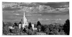Idaho Falls Temple Hand Towel