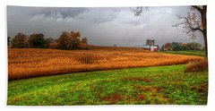 Illinois Farmland I Bath Towel