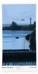 Illusion At Beaver Harbour Light Hand Towel