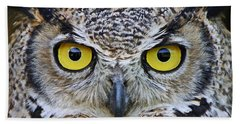Bath Towel featuring the photograph I'm Watching You by Heather King