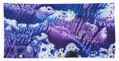 Bath Towel featuring the painting Imagination 3 by Vesna Martinjak