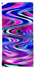 Imagination Curves Hand Towel by Kellice Swaggerty
