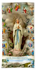 Immaculate Conception Hand Towel