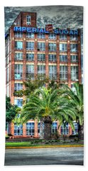 Imperial Sugar Factory Daytime Hdr Hand Towel by David Morefield