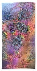 Hand Towel featuring the digital art Impressionist Dreams 2 by Casey Kotas