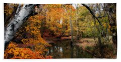 In Dreams Of Autumn Hand Towel by Kay Novy
