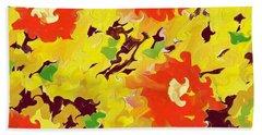In Full Bloom Hand Towel by Alec Drake