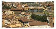 In Love With Firenze - 1 Bath Towel