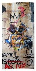 In Memory Basquiat Hand Towel