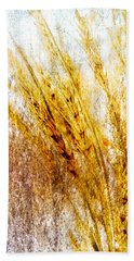 In Memory Of Wheat Hand Towel