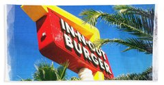 In-n-out Burger Bath Towel by Nina Prommer