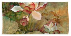 In The Lotus Land Hand Towel