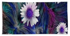 In The Magic Forest In The Temple Of Colors Bath Towel