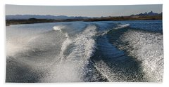 In The Wake Of Lake Havasu Az  Bath Towel by Cathy Anderson